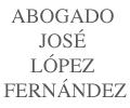 Abogado José López Fernández